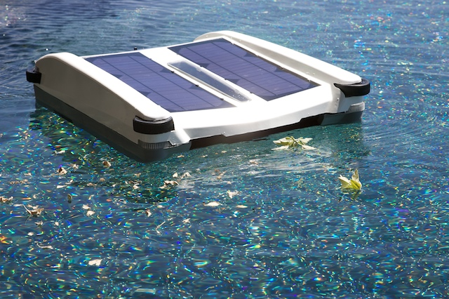 Not Just Skimming The Surface Of Your Pool Solar Pool